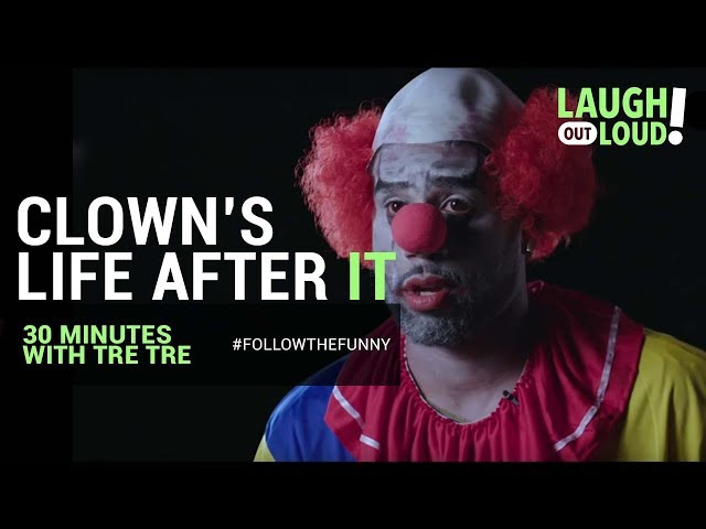 Clown's Life after the IT Movie   30 Minutes with Tre Tre the Clown   LOL Network