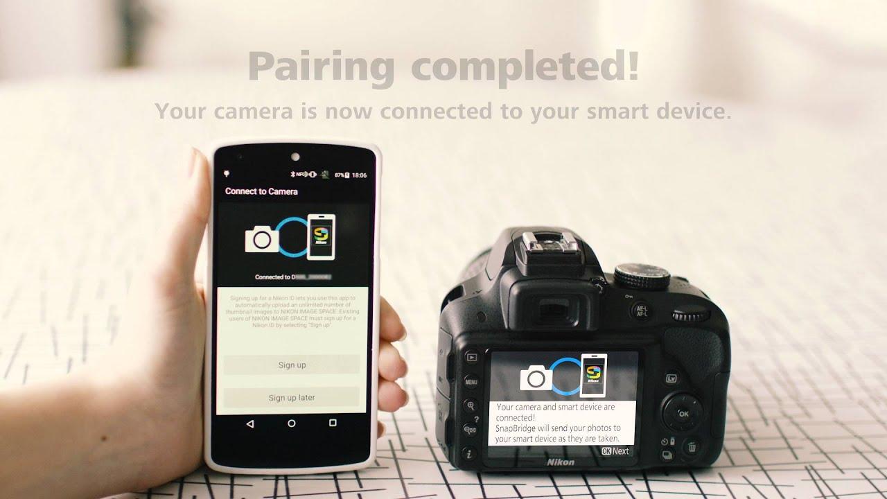 Nikon SnapBridge: How to connect your Nikon Camera to your Smart Device