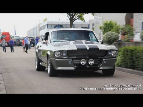 Ford Mustang GT500 Eleanor + GT-H - Amazing sound!! - 1080p