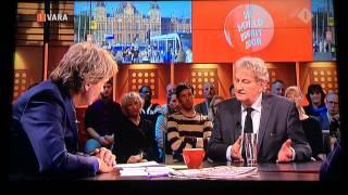 Burgermeerster Eberhard van der Laan waarschuwt voor politiestaat in Nederland. DWDD 13-1-2015