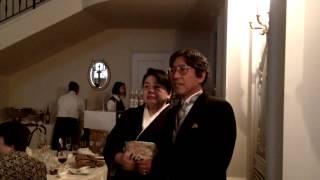 結婚式の前日は、ご新婦ご両親様の36回目の結婚記念日でした。 ご新婦様...
