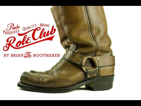 Harness Boots Resole #11