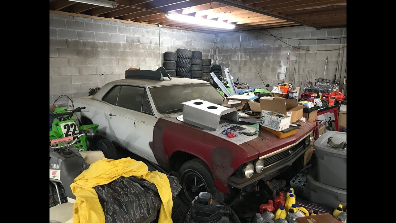 Image result for HIDDEN 51 YEARS,The Godfather Of Solid Lifter Big Block Chevelles Discovered In A House Basement!
