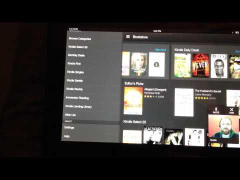 Amazon Kindle Fire HDX Mayday Button