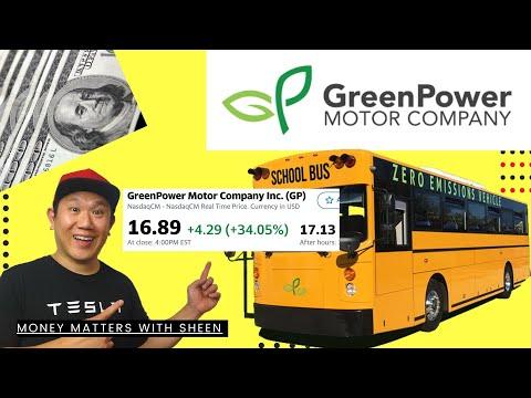 GREEN POWER MOTORS GP STOCK POP