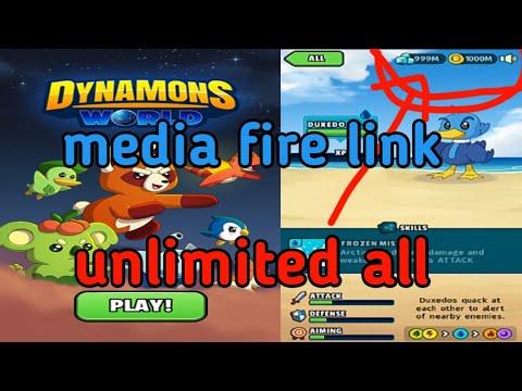 Dynamons world mod apk download