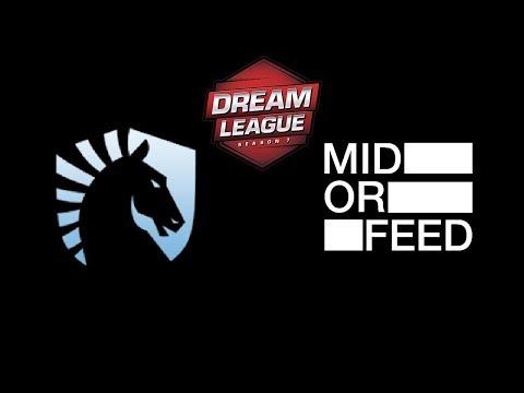 Liquid vs Mid or Feed DreamLeague season 8 Highlights Dota 2