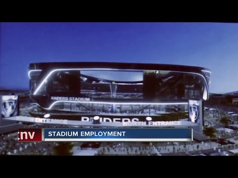 Potential Las Vegas stadium employment opportunities
