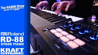 NAMM 2020 - Roland RD-88 Stage Piano