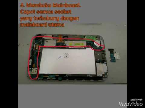 Cara memperbaiki Samsung Galaxy Tab 8 gt-n5100 not charge / tidak ngecas