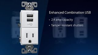 Eaton USB Charging Receptacles