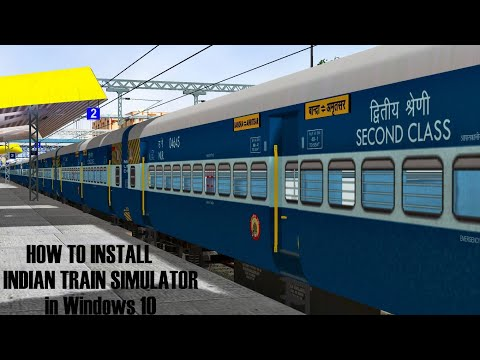 fc38e60179 How to Install Microsoft Train Simulator [MSTS] in any PC Running any  Window.