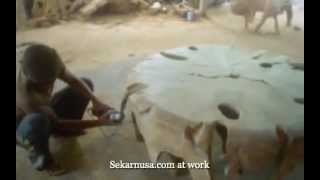 Sekarnusa.com Teak Root Furniture At Work 2-mobile.m4v