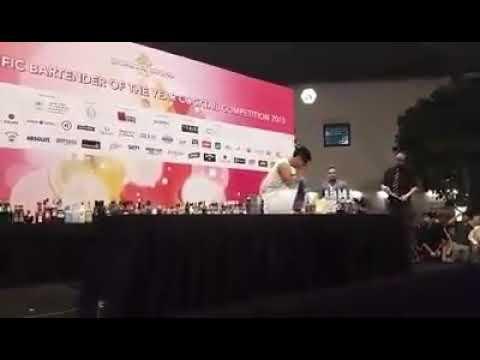 สุดยอดบาร์เทนเดอร์ไทย ที่ไปคว้ารางวัลอันดับ 3 ในเวทีระดับเอเซีย ในงาน Asia Pacific Cocktail 2015