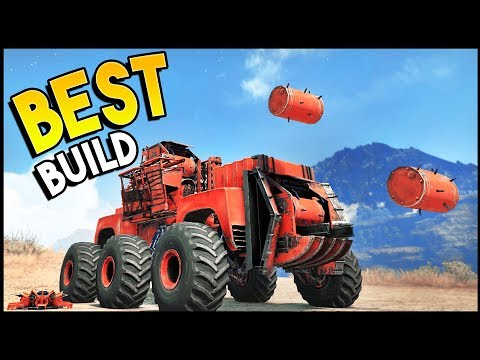 Crossout - THE BEST BUILD EVER!? Insane Damage (Crossout Gameplay)