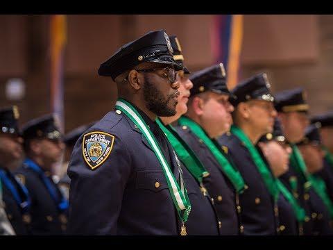 Mayor de Blasio Speaks at NYPD Medal Day Ceremony