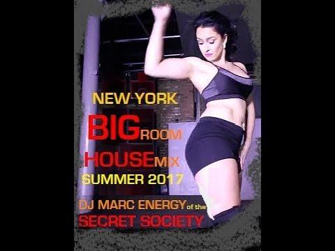 New York Big Room Summer House Mix - NYC Underground Club Music 2017
