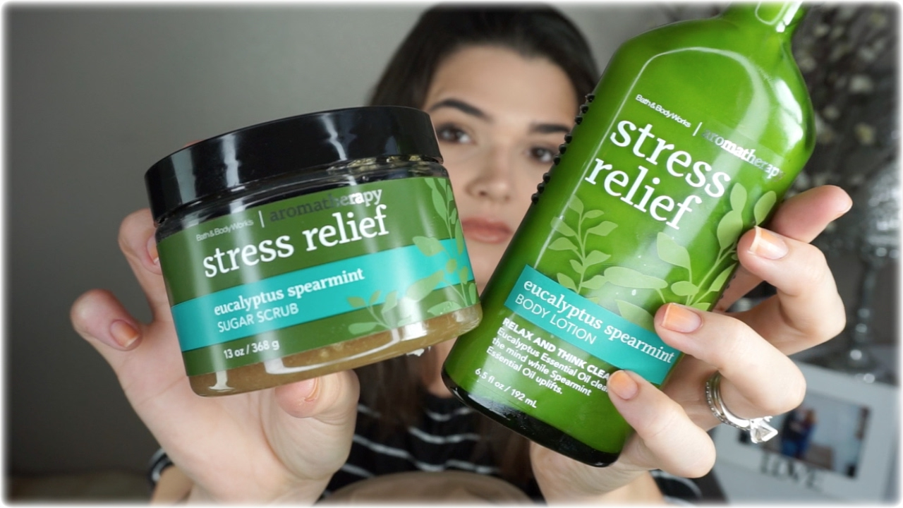 Bath & Body Works Aromatherapy | Stress relief Review ...
