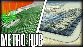 BUILDING A METRO HUB - TRAINCITY 4.0 #5