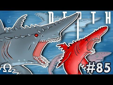 THE GOBLIN SHARK SWARM! | Depth #85 Divers vs Sharks Winter Update Ft. Toonz