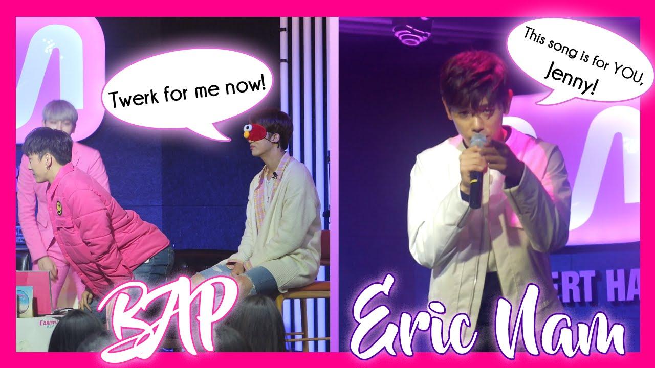Mwave Meet Greet Bap Eric Nam Meet In Greet Eric Nam
