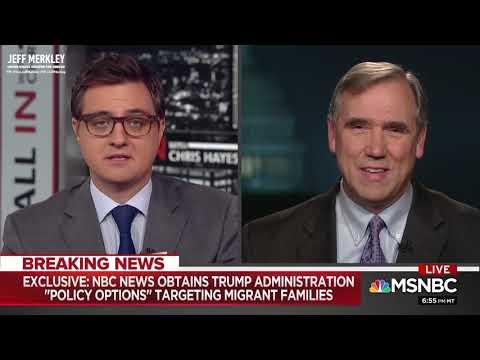 Merkley Reveals Secret Trump Administration Plan to Create Border Crisis