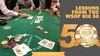 Lessons from the WSOP Big 50