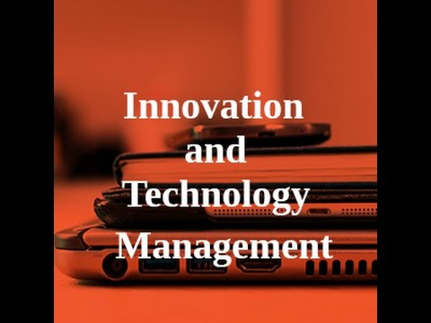 Info session for MA Innovation and Technology Management pro