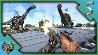 SOLO VICTORY AGAINST CHEATERS! - Ark: Survival of the Fittest [SOTF Gameplay]