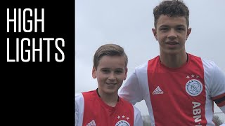 Highlights Ajax O14 - AZ O14