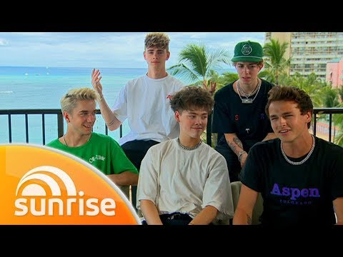 Why Don't We's exclusive Hawaiian getaway | Sunrise