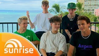 Why Don't We's exclusive Hawaiian getaway | Sunrise