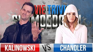 Mike Kalinowski VS Brianne Chandler - Movie Trivia Schmoedown
