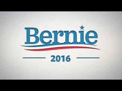 Bernie Sanders Logo Animation #3