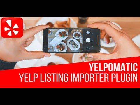 Yelpomatic - Automatic Post Generator Plugin for WordPress
