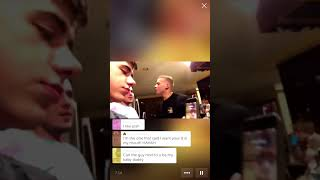 GOD KYLE ROSS says Hi Francis😄😍😍😍😍😍💘💘💘 feat. JoeyMills, JoshBrady, CorbinColby, BlakeMitchell