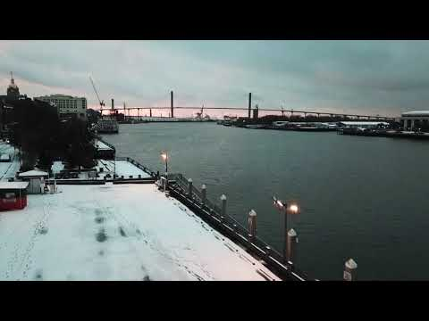 Snow in Savannah GA. Jan 2018