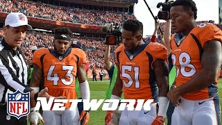 Demaryius Thomas & T.J. Ward React to Their Rankings | Top 100 Players of 2016 Reaction