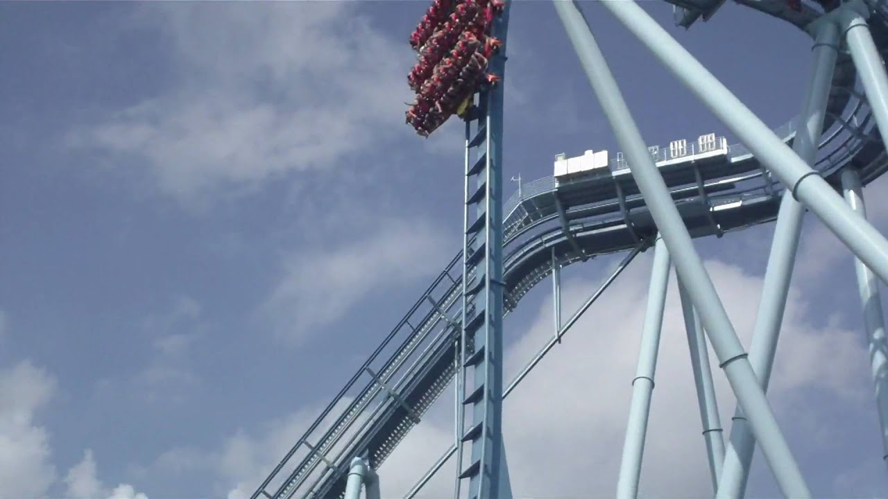 Griffon Roller Coaster At Busch Garden Europe Williamsburg Va Youtube