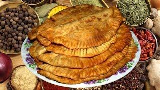 Чебуреки с мясом,очень вкусный и простой рецепт
