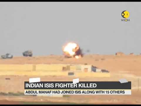 India's ISIS recruit killed