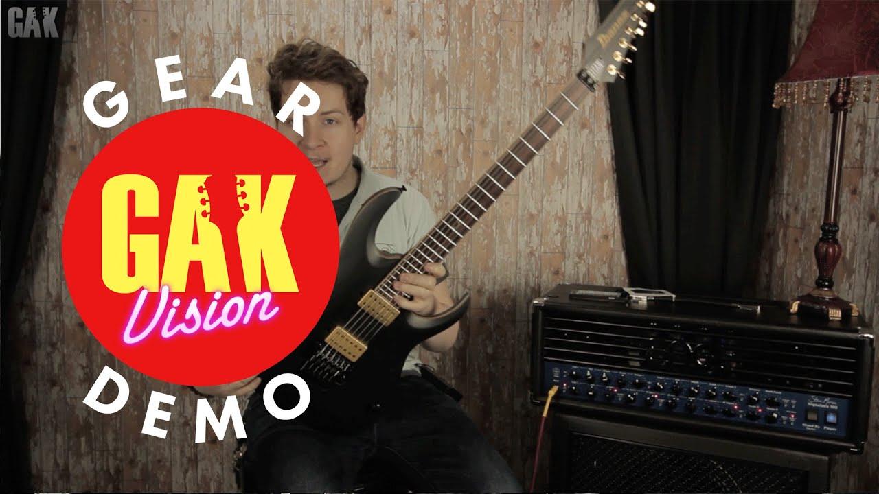 ibanez pwm10 ibanez jbm20 demo at gak youtube