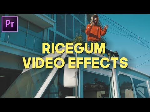 6 RICEGUM DISS TRACK VIDEO EFFECTS (PREMIERE PRO CC 2017)