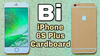 iPhone 6S Plus (Gold) paper   in Cardboard   How to Make   easy   Bi