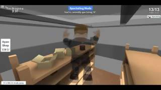 ROBLOX HIDE AND SEEK FUNNY DEY CANT CATCH ME!!!! :P