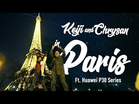 Your Favourite Couple In Paris ft Chrysan and Keiji
