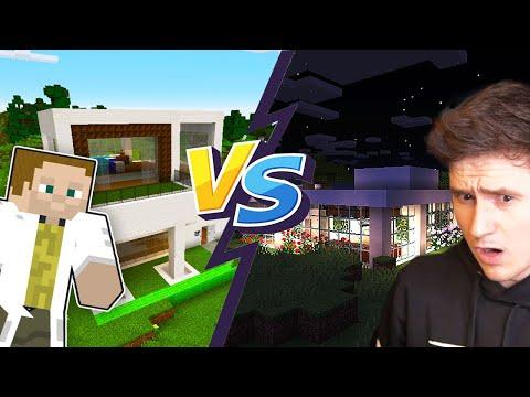 KDO POSTAVÍ LEPŠÍ DŮM? L Minecraft W/ Gejmr