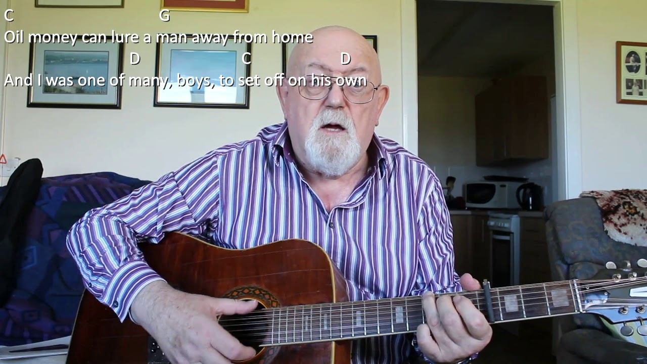 12 String Guitar Oil Money Including Lyrics And Chords Youtube