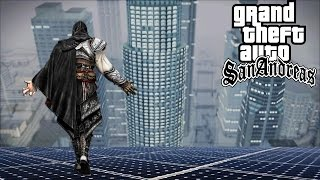 GTA San Andreas PARKOUR MOD! How to use + Download Link! 2017