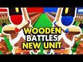 EPIC NEW MUSKETEER UNIT IN WOODEN BATTLES (Wooden Battles Funny Gameplay)